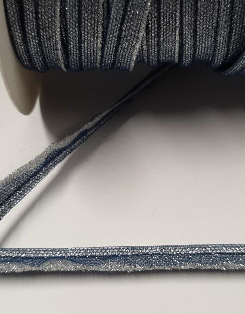 Paspellint metallic blauw