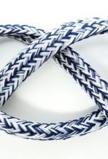 Koord voor hoodies blauw Melange