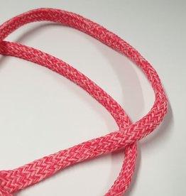 Koord voor hoodies rood Melange