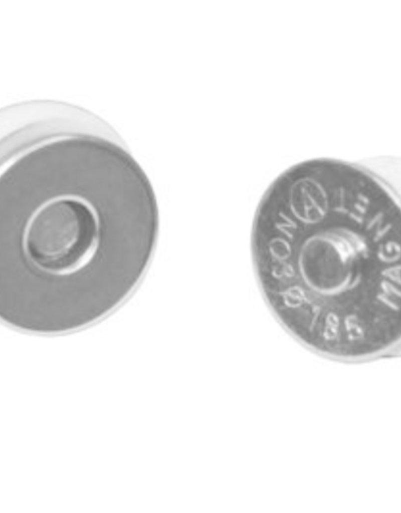 MagneetsluitingZilver 14 mm