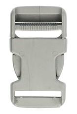 Turbo- sluiting  30 mm zilver