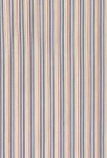 Michael Miller Flight school ticking away stripes