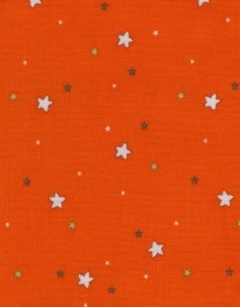 Michael Miller Flight school sprinkled stars sunset