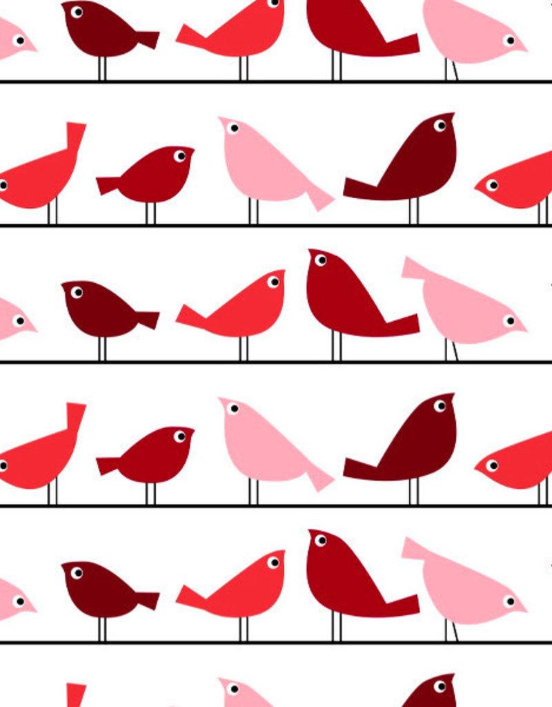 Vogeltjes op lijn