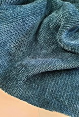 La Maison Victor Stina sweater petrol blauw