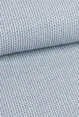 Hamburger Liebe Big knit grijs/blauw