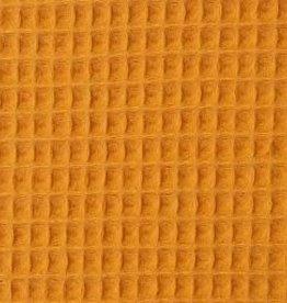 Wafelbadstof Nelson geel