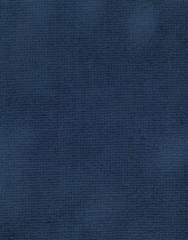 Badstof blauw micro terry