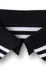 Polo me zwart witte streep