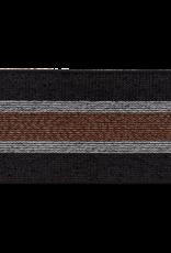 Elastiek zwart koper zilver