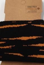 Voorgesneden boord zwart/oranje
