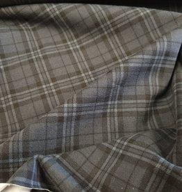 Vierkant tricot grijs