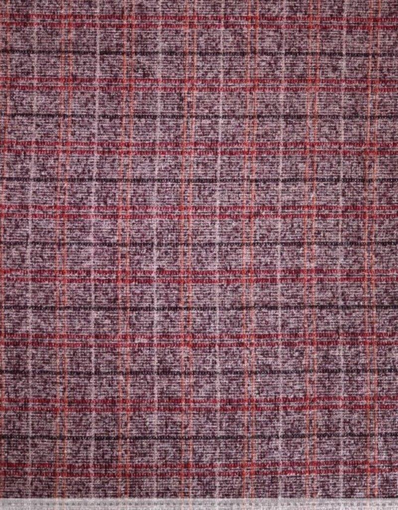 Wool check vierkanten