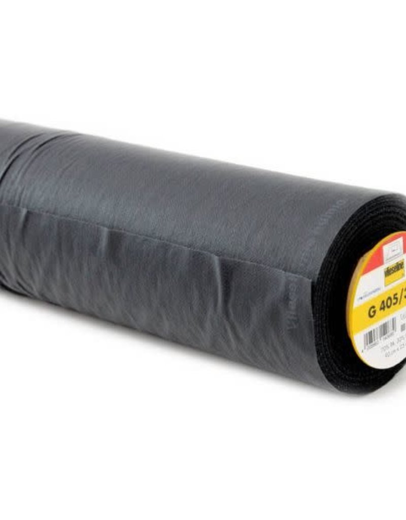 Vlieseline g405 grijs/zwart