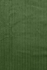 Magnus ribfluweel groen