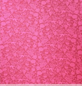 Jacquard fuschia recycle bloem