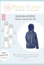 Lillesol und Pelle Raglan hoodie