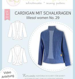Lillesol und Pelle Cardigan met sjaalkraag n°  29