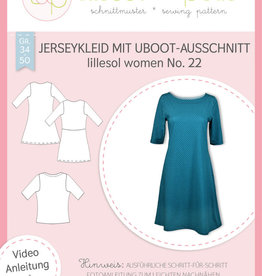 Lillesol und Pelle Jerseykleed met boothals n°22
