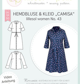 Lillesol und Pelle Camisa hemdsblouse of kleed