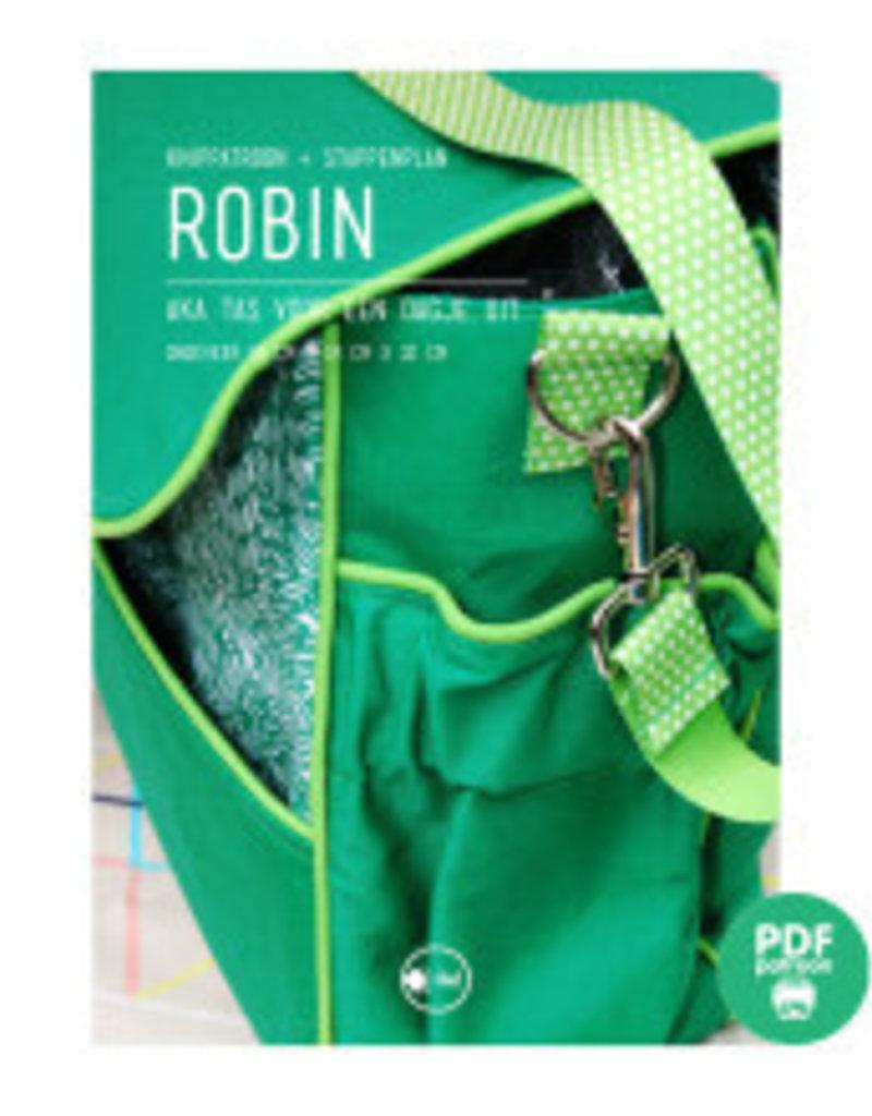 Patroon boekentas Robin