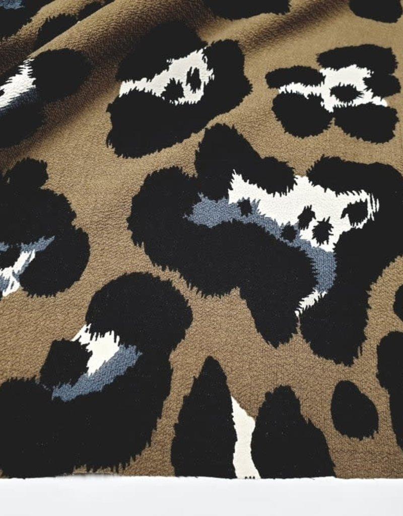 Leopard kaki/black