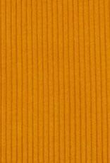 Markus ribfluweel warm geel
