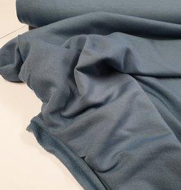Viscose tricot blauw/grijs