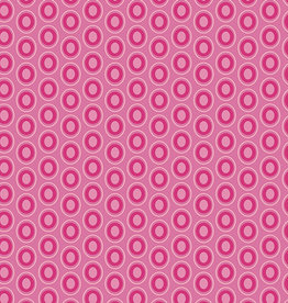 Art Gallery Fabrics AGF Oval Elements Passionate Fuchsia