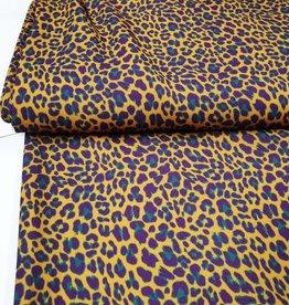 Leopard oker - bordeaux