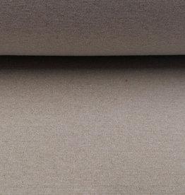 Boordstof glitter grijs zilver glitters