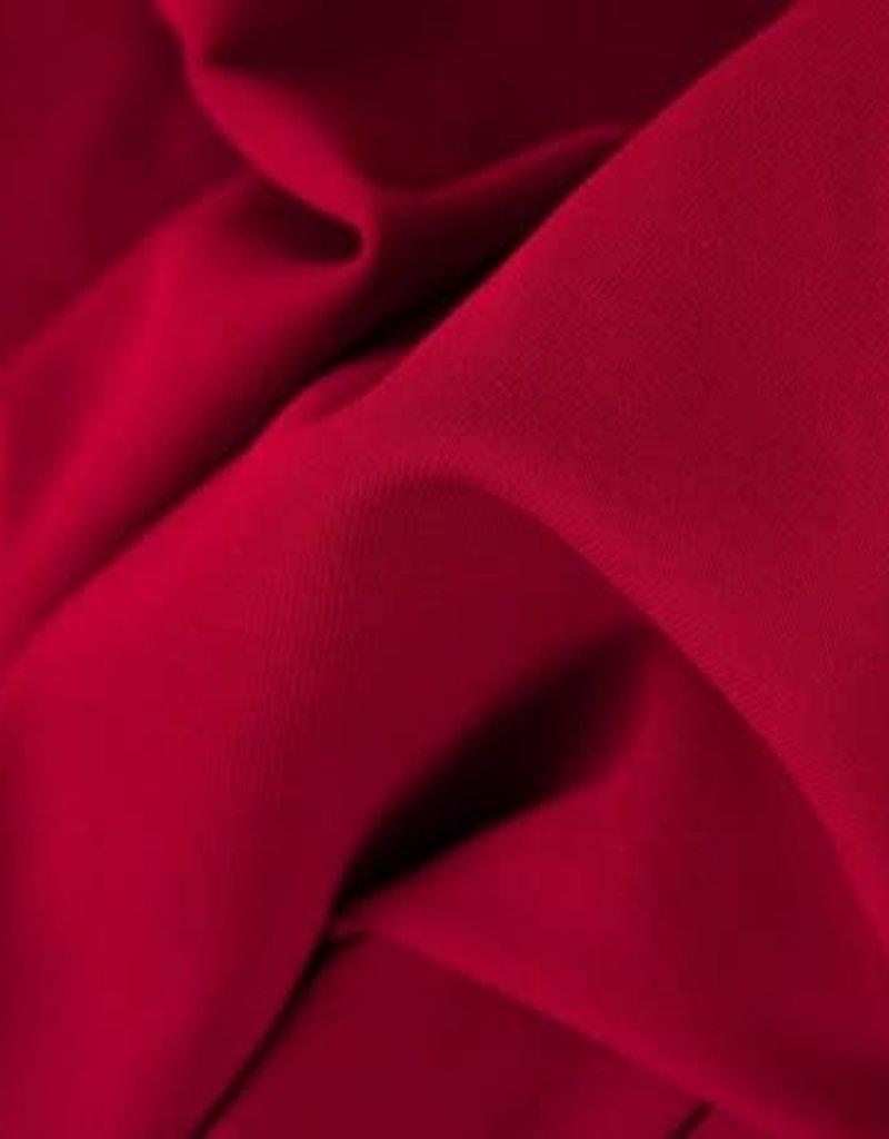 Boordstof Heike  donker rood