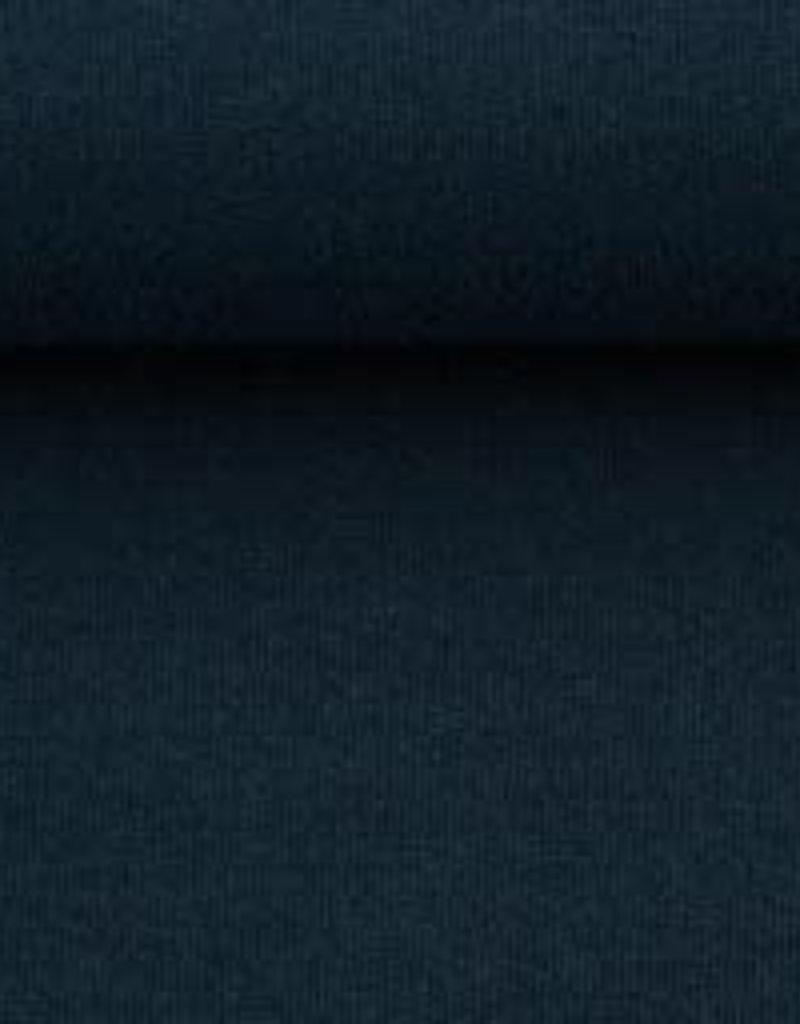 Boordstof Heike nachtblauw