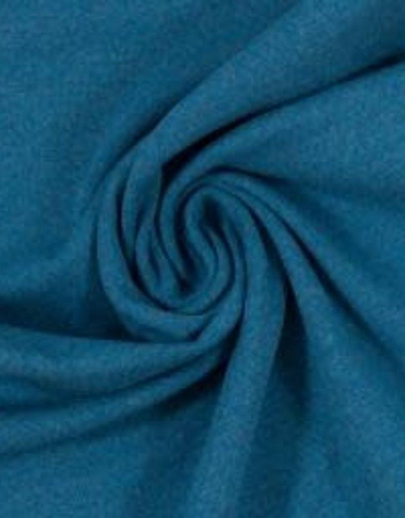 Boordstof Heike melange  blauw