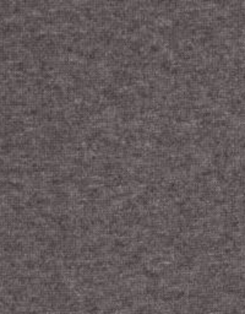 Boordstof Heike melange  donker grijs