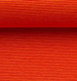 Bella gestreepte tricot oranje