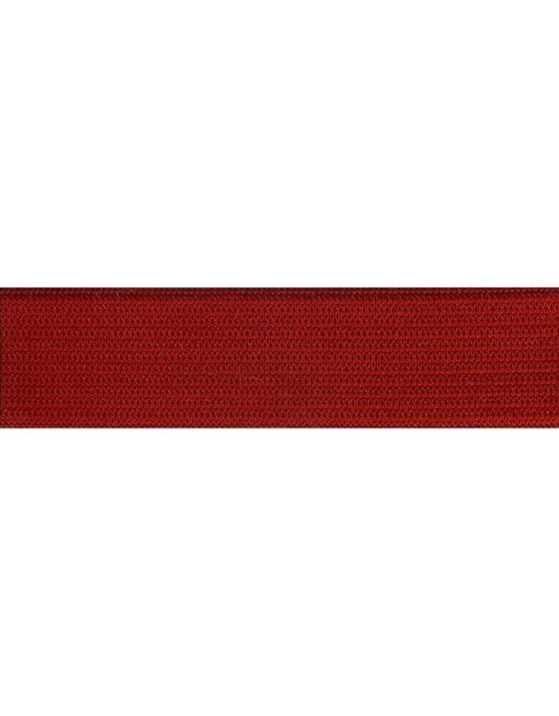 Elastiek rood 25 mm