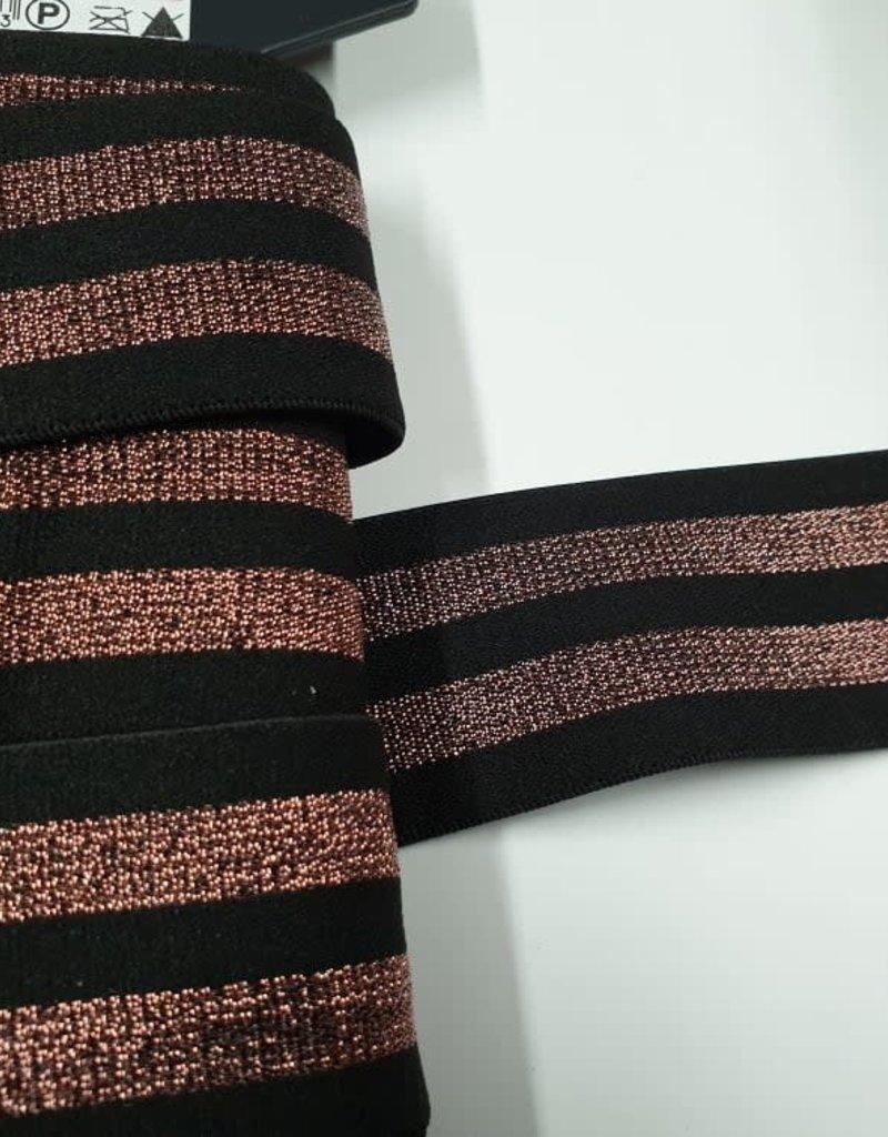 Sierlint elastisch koper