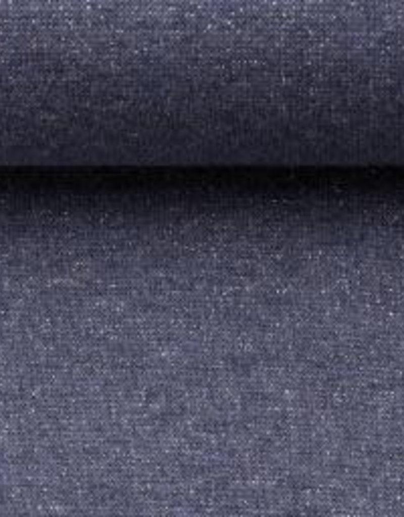 Glamour sweat jeansblauw