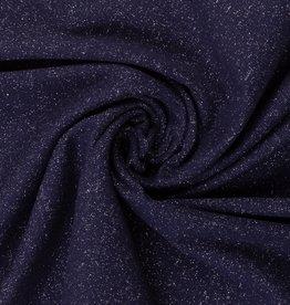 Glamour sweat donkerblauw
