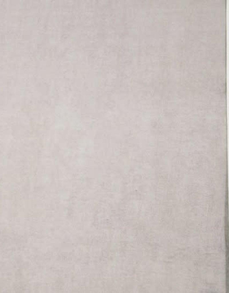 Badstof katoen bamboo/flanel grijs