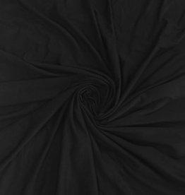 Bamboo katoen tricot zwart