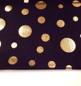 katoen met gouden dots