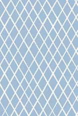 Ruitjes blauw Eva mouton