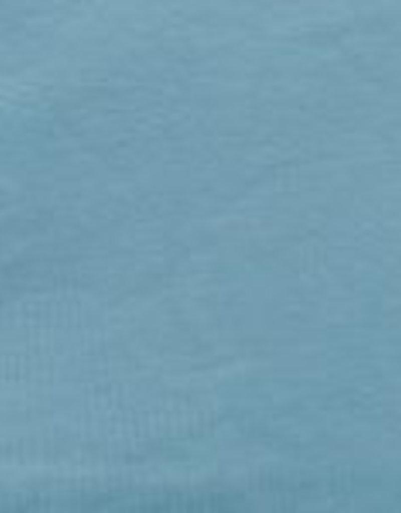 Eva Mouton uni French Terry licht blauw
