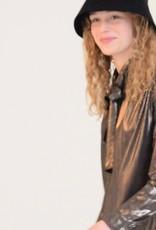 Fibre mood Shiny gold/Emilia dress
