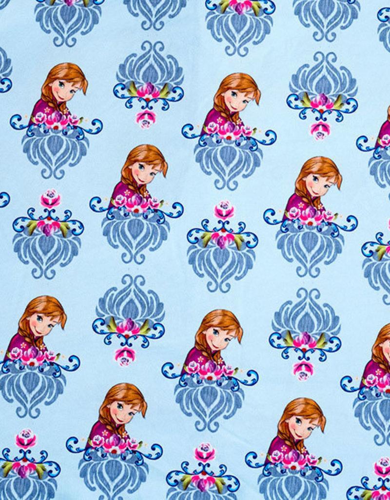 Frozen Anna op lichte achtergrond  summer sweat