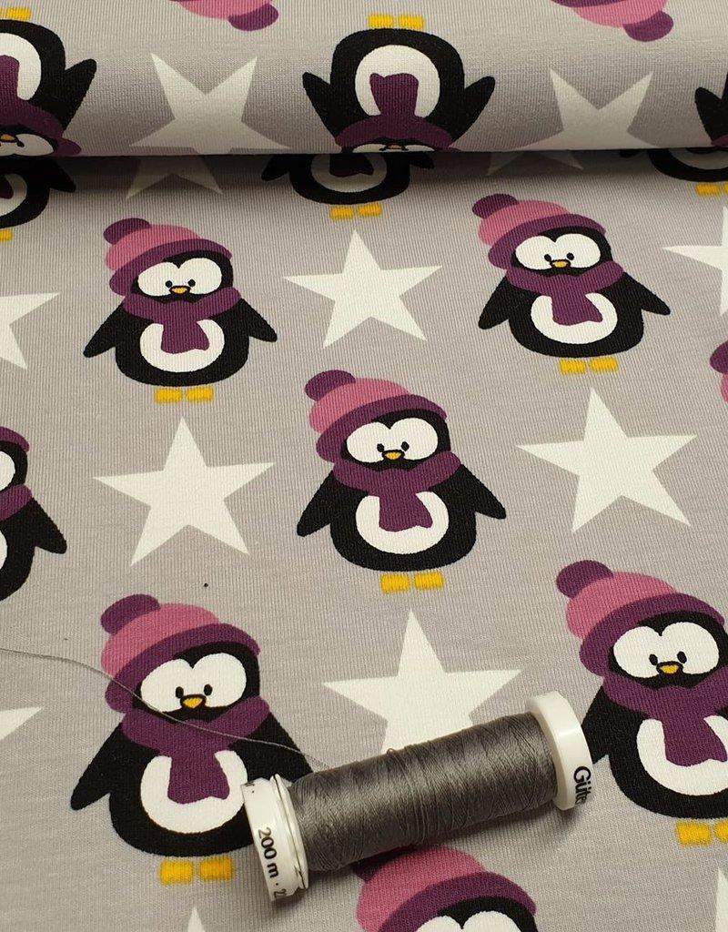 Pinguïn sweat purper