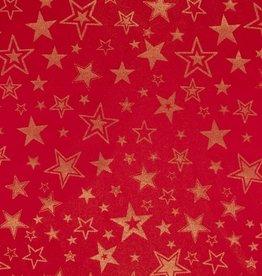 Sterren rood lurex
