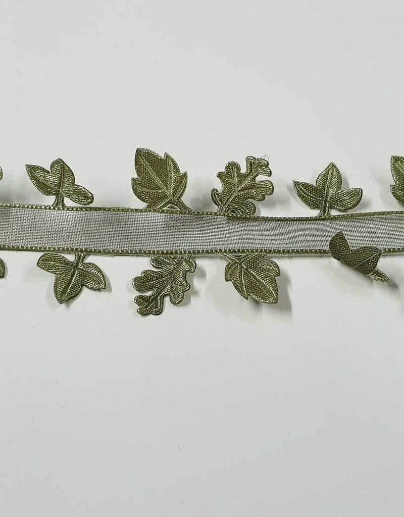 Lint met blaadjes groen